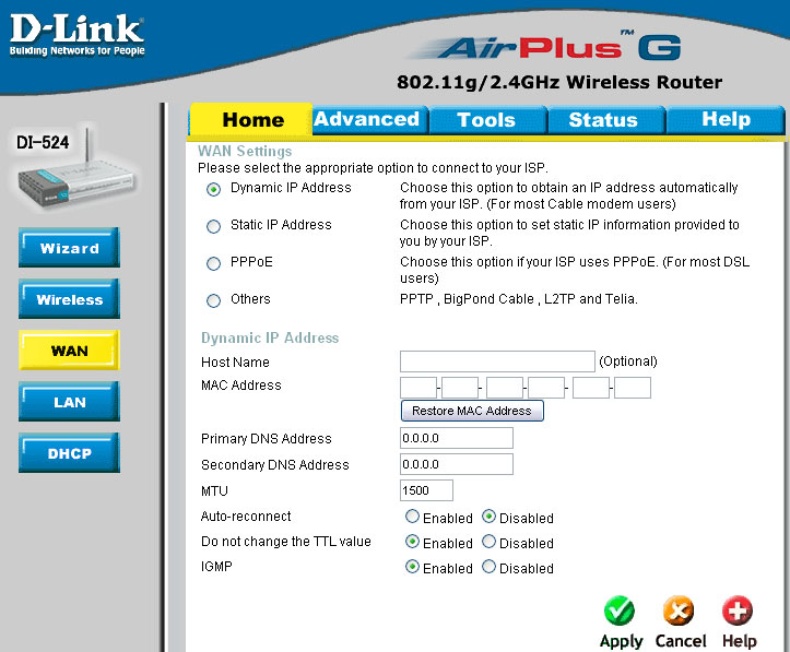 D link airplus g wireless vpn router