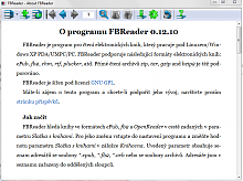 FBReader - e-book čtečka pro Windows%2C Unix