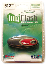 Rubber Flash Disc 512MB USB 2.0