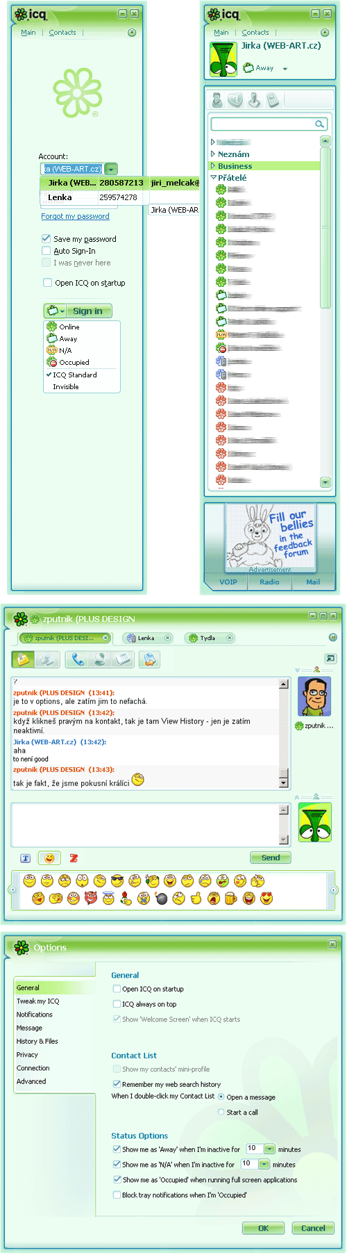 ICQ 6 Preview Version
