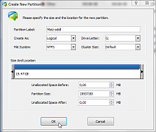 Partition Wizard 3