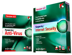 Kapersky Interent Security 6.0